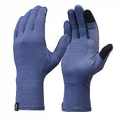 FORCLAZ Spodné Rukavice Trek 500 Modré