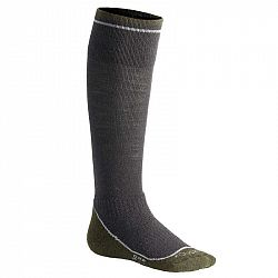 FOUGANZA Ponožky 500 Warm Sivé Kaki