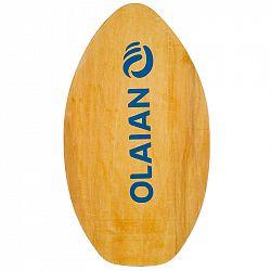 OLAIAN Detský skimboard 500 drevený