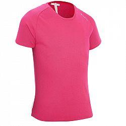 QUECHUA Dievčenské Tričko Mh500 Ružové