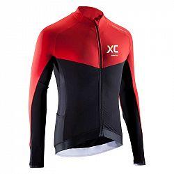 ROCKRIDER Tričko Mtb Xc čierno-červené