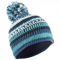 WEDZE čiapka Mixyarn Modro-zelená