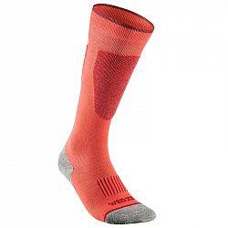 WEDZE Lyžiarske Ponožky 100 Koralové