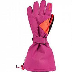 WEDZE Lyžiarske Rukavice 500 Ružové