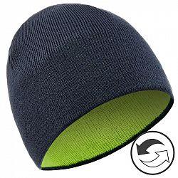 WEDZE Obojstranná čiapka žlto-modrá